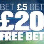 Coral Review – Bet £5 Get a £20 Free Bet