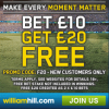 William Hill Review – Bet £10 Get a £20 Free Bet