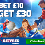 Betfred Review – Bet £10 Get a £30 Free Bet