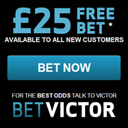 BetVictor Review – £25 Free Bet