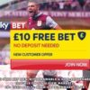 Sky Bet Review – £10 Completely Free Bet