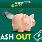 Paddy Power streamline Cash Out home page