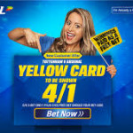 Coral 4/1 odds on a Yellow Card for North London Derby special