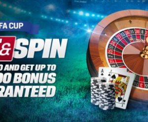 Coral FA Cup Final Spin and Win Offer!