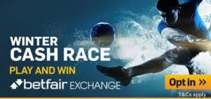 Betfair Cash Race now on – Earn double points at the Olympics!