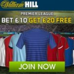 Bet £20 in Football Acca's earn a free weekly 5 bet at Hills