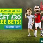 Paddy Power Premier League Live Game Betting Offer