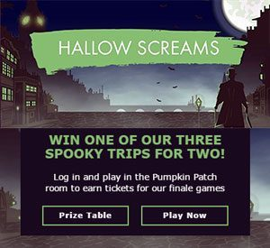 Bet365 Bingo £500,000 Party Weekend and Hallow Screams!