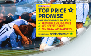 Sky Bet Top Price Promise