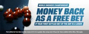 Coral offer Snooker World Championship daily free bets