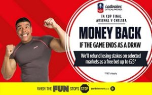 Ladbrokes Draw Insurance for FA Cup Final Betting