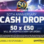 Betfred Cash Drop Is Back