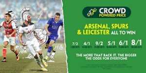 Paddy Power crowd-boosted Enhanced Odds for Premier League Final Day